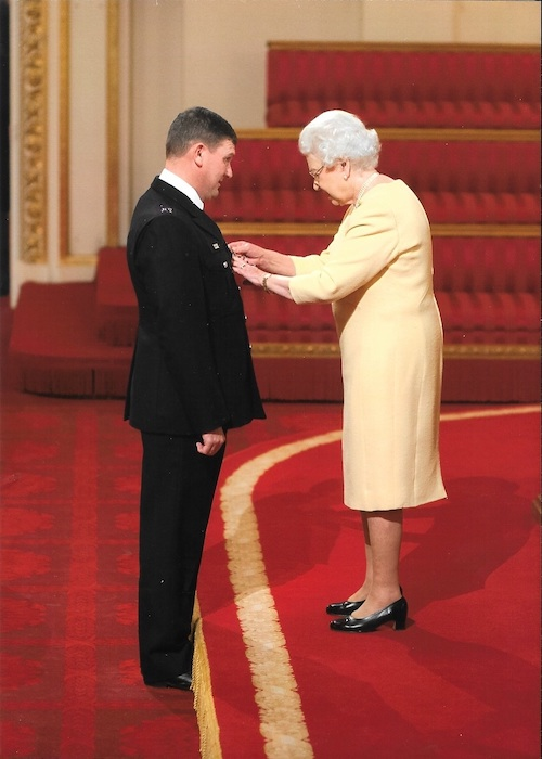 Mark Edwards MBE Queen Elizabeth Award