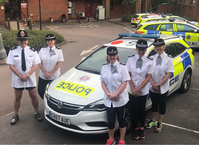 Surrey Police Train for Charity Half Marathon